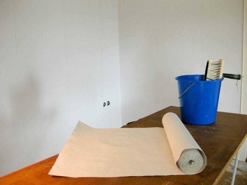 הדבקת טפטים תהליך ביצוע