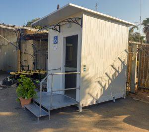 קבלן שיפוצים מומלץ עבודת בניה קלה חדר שירותי נכים נייד