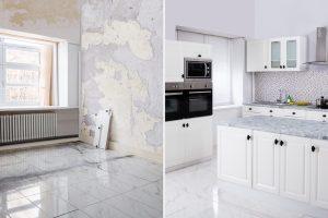 כמה עולה שיפוץ דירה שיפוץ דירה לפני ואחרי
