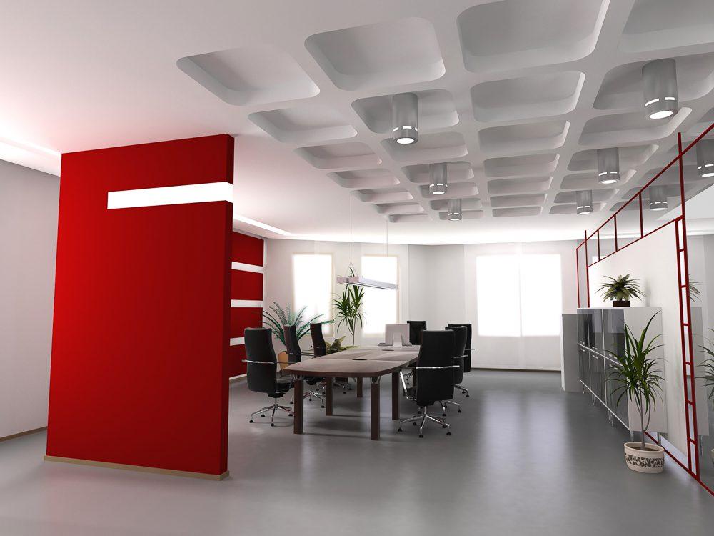 תקרה אקוסטית למשרדים