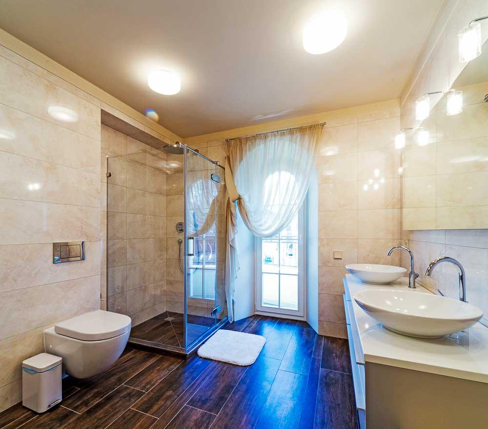 שיפוץ חדר מקלחת יוקרתי